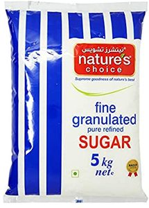 Natures Choice Granulated Sugar 5kg