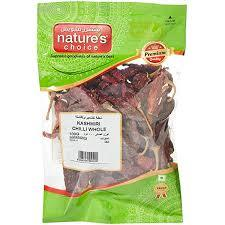 Natures Choice Chilli Whole 100g