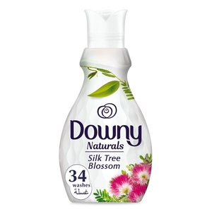 Downy Naturals Concentrate Fabric Softener Silk Tree Blossom Scent 1.38L