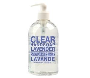 Clear Hand Wash Fresh Lavender 500ml