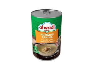 Al Wadi Al Akhdar Humus Tahina Ready To Eat 454g