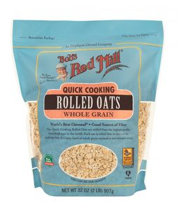 Bobs Red Mill Oats Rolled Quick 907g