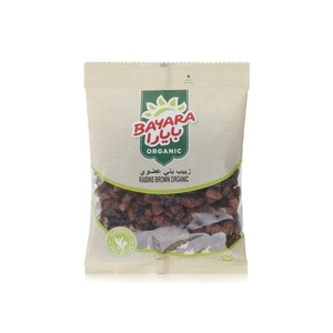 Bayara Raisins Brown Organic 200g