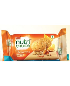 Britannia Nutrichoice Oats Cookies Orange 6x75g