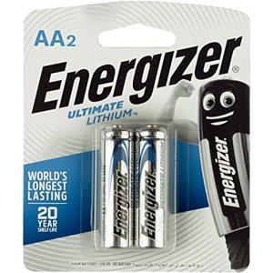 Energizer Battery Lithium L91Bp3 Aa 1set