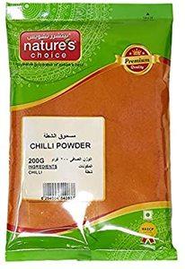 Natures Choice Chilli Powder 200g