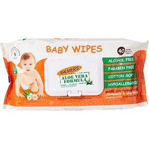 Palmers Baby Wipes Flow Pack 40s