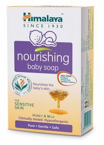 Himalaya Moisturiser Baby Soap With Honey & Milk 6x125g