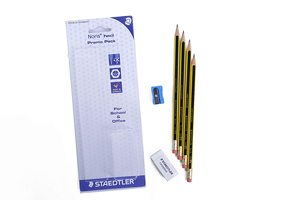 Staedtler Noris Pencil With Rubber 1pc