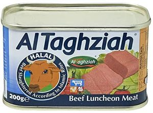 Al Taghziah Luncheon Beef 840g+200g