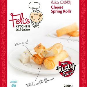Feli's Kitchen Cheese Rolls Arabic 250g