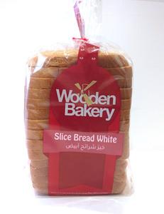 Wooden Bakery Sliced Bread White 480g