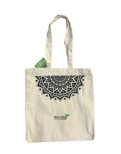 Golden Point Canvas Shopping Bag 1pc
