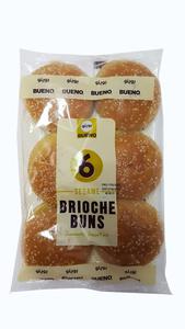 Bueno Brioche Bun Sesame 6pcs