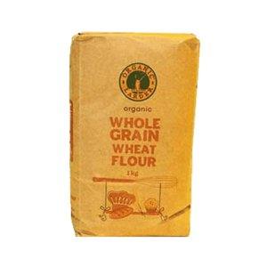 Organic Larder Organic Whole Grain Wheat Flour 1kg