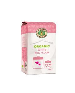 Organic Larder Organic White Rye Flour 1kg