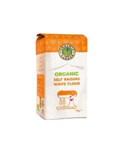 Organic Larder Organic Self Raising White Flour 1kg