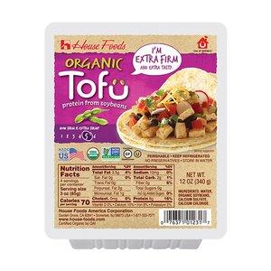 House Foods Organic Tofu Extra Firm 340g