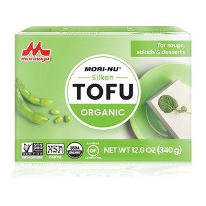 Mori Nu Silken Tofu Organic Green 340g