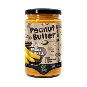 Nature's Finest Organic Banana And Vanilla Peanut Butter 350g