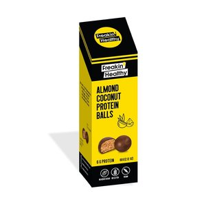 Freakin' Healthy Almond Coconut Protein Balls 60g