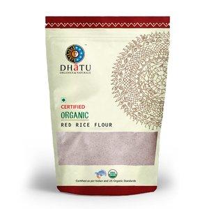 Dhatu Organic Red Rice Flour Stone Ground 500g