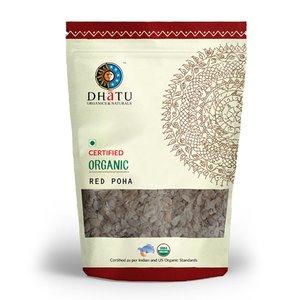 Dhatu Organic Red Poha 500g