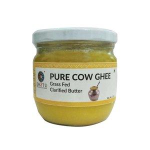 Dhatu Pure Cow Ghee Grass Fed Clarified Butter 250g