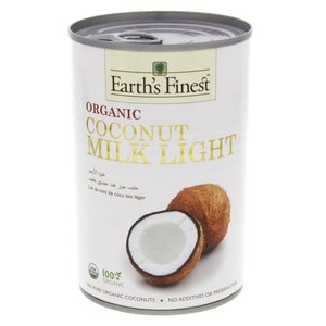 Earth's Finest Organic Coconut Milk Light 400ml