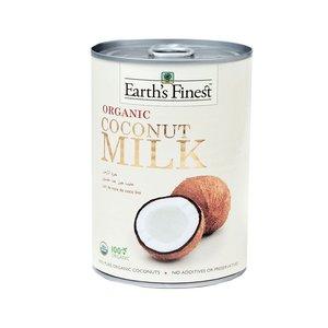 Earth's Finest Organic Coconut Milk Raw 400ml