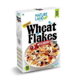Natureland Organic Wheat Flakes 250g