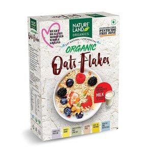 Natureland Organic Oat Flakes 250g