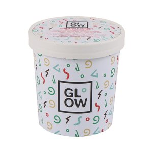 Glow Vegan Salted Caramel Dairy Free Ice Cream 500ml
