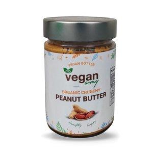 Veganway Organic Peanut Butter Crunchy Vegan 300g