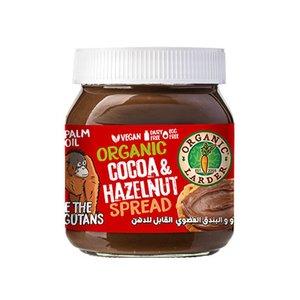 Organic Larder Cocoa And Hazelnut Spread 350g