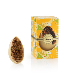 Gourmet Egg White Chocolate With Salted Nuts 500g