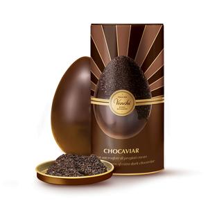 Gourmet 75% Chocoviar Egg In Metal Tin 350g