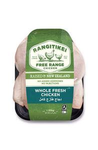 Rangitikei Whole Fresh Chicken Free Range 1.35kg