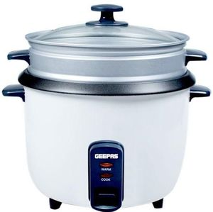Geepas Rice Cooker Electric 0.6L Grc4324 1pc