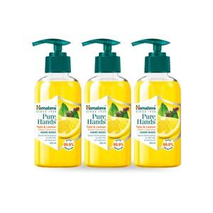 Himalaya Pure Hand Tulsi & Lemon Hand Wash 3x250ml