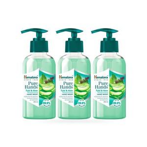 Himalaya Pure Hand Tulsi & Aloevera Hand Wash 3x250ml