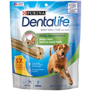 Purina DentaLife Large Dog Dental Chews 221g