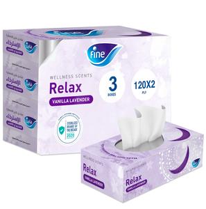 Fine Facial Tissue White Sterilized Tissues 120sx2ply