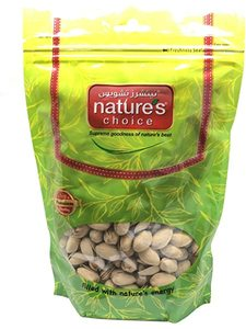 Natures Choice Pista With Shell Salted 200g