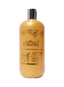 Keratin Gold Hair Shampoo 500ml