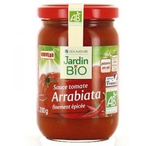 Jardin Bio Arrabiata Tomate Sauce 200g