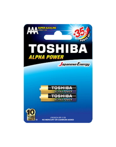 Toshiba Battery Alpha Super Power 1pc