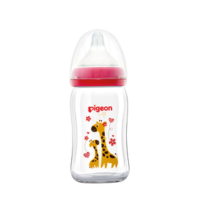 Pigeon Soft Touch Decorated Wide Neck Glass 160ml