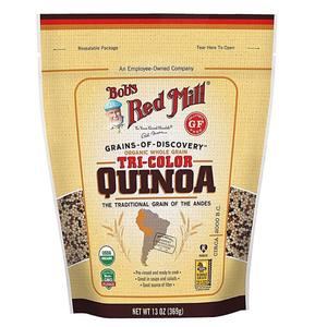 Bobs Red Mill Organic Tricolor Quinoa Grain 6x367g