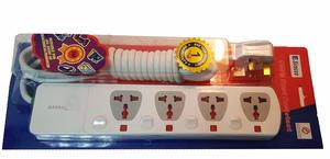 Sirocco Extension Socket 4Way 3M L083 Super 1pc